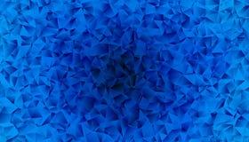 Abstrakt polygonal bakgrund Royaltyfria Bilder