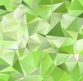 Abstrakt polygonal bakgrund Arkivfoto