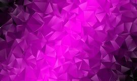 Abstrakt polygonal bakgrund Royaltyfri Fotografi