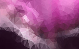 Abstrakt polygonal bakgrund, Royaltyfri Foto