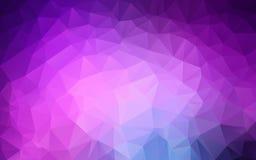 Abstrakt polygonal bakgrund, Fotografering för Bildbyråer