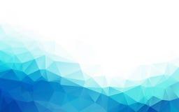 Abstrakt polygonal bakgrund, Arkivfoto