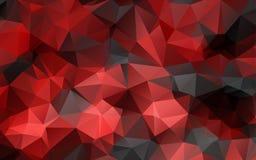 Abstrakt polygonal bakgrund, Arkivbilder