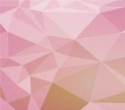 Abstrakt polygonal bakgrund stock illustrationer