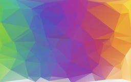 Abstrakt polygonal bakgrund Arkivfoton