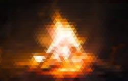 Abstrakt polygonal bakgrund Denna är mappen av formatet EPS10 Royaltyfria Foton