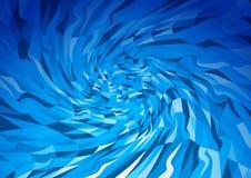 Abstrakt polygonal bakgrund för vektor Royaltyfria Bilder