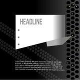 abstrakt polygonal bakgrund för vit för text Arkivfoto