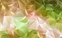 Abstrakt polygonal bakgrund Triangulated textur Royaltyfri Bild