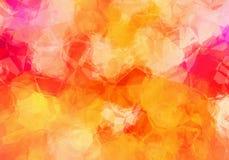 Abstrakt polygonal bakgrundstextur Royaltyfria Bilder
