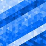 Abstrakt polygonal modell av trianglar geometrisk bakgrund stock illustrationer
