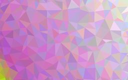 Abstrakt polygonmodellbakgrund Arkivbilder