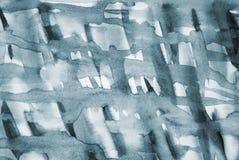 Abstrakt popielata akwarela na papierowej teksturze jako tło zdjęcia stock