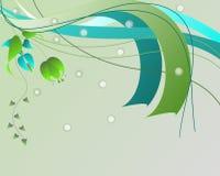 abstrakt prydnad Royaltyfri Illustrationer