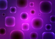 Abstrakt purpurfärgad bakgrund med geometriska former stock illustrationer