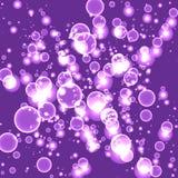 Abstrakt purpurfärgad bakgrundsvektor för ilsken blick Royaltyfria Foton