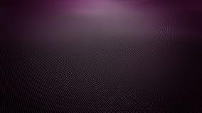 Abstrakt purpurfärgad krabb yttersida som göras av små bollar arkivfilmer