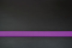 Abstrakt purpurfärgad linje Royaltyfri Fotografi