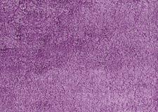 Abstrakt purpurfärgad textilhandduktextur Royaltyfri Fotografi
