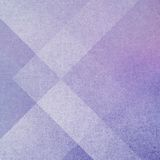 Abstrakt purpurfärgad bakgrund med geometriska lager av rectangels och triangelformer Royaltyfria Bilder
