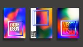 abstrakt räkningsdesign Färgrik lutningvektorbakgrund stock illustrationer