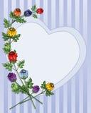 Abstrakt róży pączek Obraz Royalty Free