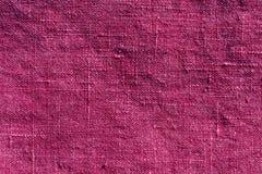 Abstrakt różowa tekstylna tekstura Obrazy Stock