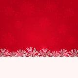 Abstrakt röd bakgrund för jul Royaltyfri Fotografi