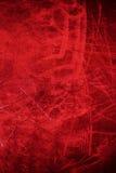 Abstrakt röd bakgrund med grungetextur För tappningdesign Arkivfoto