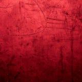 Abstrakt röd bakgrund med grungetextur För tappningdesign Royaltyfri Foto
