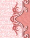 Abstrakt röd batik yogyakarta för räkning Royaltyfri Fotografi