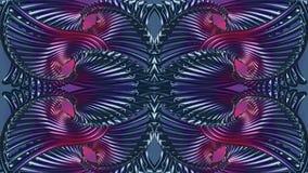 Abstrakt röd-blått bakgrund, rasterbild för designen av tex Royaltyfri Fotografi