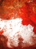 Abstrakt röd gammal vägg Arkivfoton