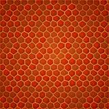 Röd guld- cell- bakgrund Royaltyfria Bilder