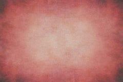 Abstrakt röd hand-målad tappningbakgrund arkivfoto