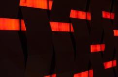 Abstrakt röd och svart vägg Arkivbilder