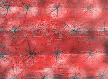 Abstrakt röd rosa karmosinröd orange tappningbakgrund Arkivfoto