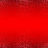 Abstrakt röd teknologibakgrund Royaltyfri Bild