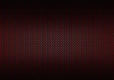 Abstrakt röd texturerad materiell design för kol fiber Fotografering för Bildbyråer