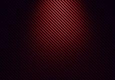 Abstrakt röd texturerad materiell design för kol fiber Arkivbild