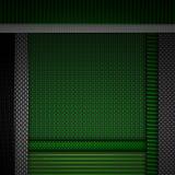 Abstrakt röd texturerad materiell design för kol fiber Arkivfoto