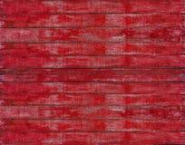 Abstrakt röd träplanka Arkivbild