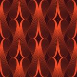 Abstrakt röd utsmyckad geometrisk kronbladrasterbakgrund Arkivbilder
