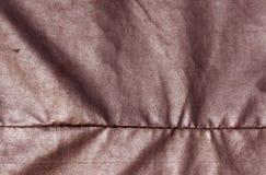 Abstrakt röd vattentät textiltextur Arkivfoton