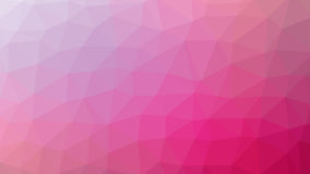 Abstrakt röd vektorlutning lowploly av bakgrund för många trianglar för bruk i design Arkivbild