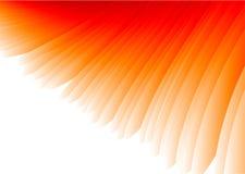 abstrakt röd vektorvinge Arkivfoto