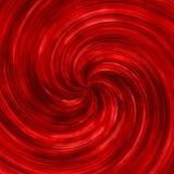 Abstrakt röd virvlande runt virvelbakgrund royaltyfri illustrationer