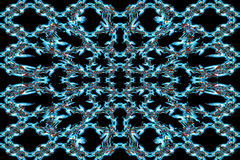 Abstrakt rök Art Pattern Arkivbilder