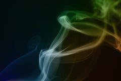 abstrakt rökwaves royaltyfria bilder