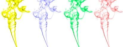 abstrakt rökwaves Arkivfoto